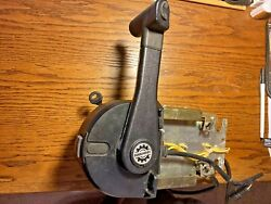 Evinrude Johnson Shift And Throttle Boat Control Box W / Ignition 1767372 30-g-1d
