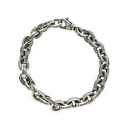 Chrome Hearts/chrome Hearts Size 8inch Large Paper Chn/large Chain Silver