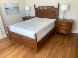 Tommy Bahama Queen Bed West Indies 3 Pc Set