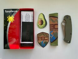 Spyderco Paramilitary 2 Od Cts-204p C81gpodfde2 Rec Exclusive Discontinued New