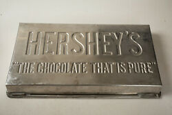 Hershey's Chocolate Mold G3l The Chocolate That Is Pure 19 By 10.5 Large