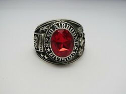 @ Silver 925 , 82nd Airborne Ring , Americas Guard , Army Ring , Us Size 8