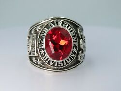 @ Silver 925 , 82nd Airborne Ring , America's Guard Honor , Army Ring,size 8.75