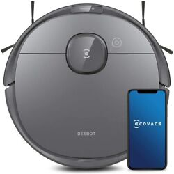 Ecovacs Deebot Ozmo T8 Robotic Vaccum Cleaner - Gray - Light Use