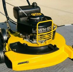 Lawn Boy Commercial Mower Andndash Special Edition Andndash Yellow Super Bee