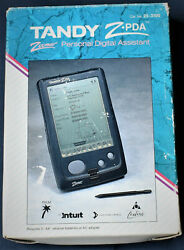 Tandy Z Pda 25-3100 Zoomer Very Rare Personal Digital Assistant