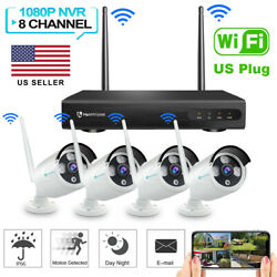 Heimvision 8ch 1080p Wireless Security Ip Camera System Wifi Nvr/dvr Kit Outdoor