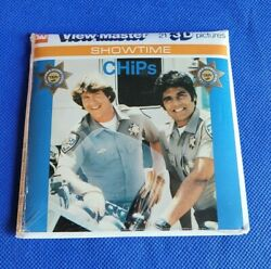 Sealed L14 Chips Estrada Tv Show Ponch And Jon View-master 3 Reels Showtime Packet