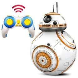 Kids Intelligent Robot Toys Rc Bb8 Car Droid Ball Bb-8 Action Figure 2.4g Remote