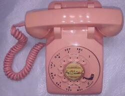 Gorgeous Working 1958 Western Electric Pink 500 Telephone Fast Shipping