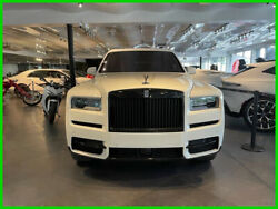 2019 Rolls-royce Cullinan Red Rr Cullinan White Over Hot Spur Starlights Fresh Service
