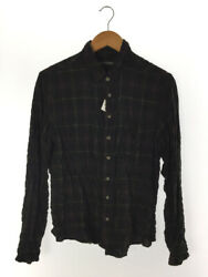 Secondhand Chrome Hearts Bsf Button Western Gauze Long Sleeve Shirt Cotton Brw
