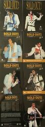 Elvis Sold Out Vol 1 To Vol. 7 Deluxe Digipack Sealed 2 Dvds Live 1970-1977 Rare