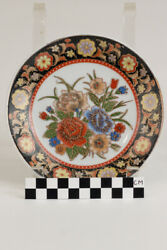 Set Of 8 Hand Painted Japanese 6 /150 Mm Plates