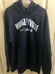 Chicago Cubs Nike City Connect Wrigleyville Hoodie Size Xxl 2xl Brand New