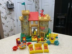 Vintage Fisher Price Little People 993 Play Family Castle Complete No Box