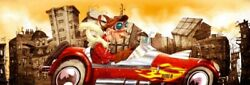 Image-art-print-the-crazy-cars-alvez-59x19in-print-on-paper-canvas-stretched-fr