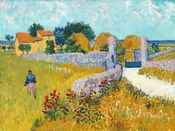 Image-art-print-farmhouse-in-provence-1888-vangogh-47x35in-print-on-paper-can
