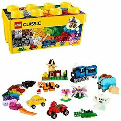 Lego Classic Yellow Idea Box Plus 10696 Free Shipping With Tracking New Japan