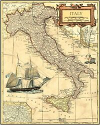 Art-print-italy-map-vision-27x35in-maps-map-world-antique-nautical-ship-shi