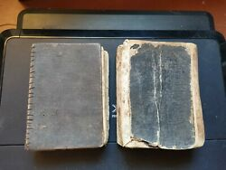 Two Russian Old Bible. Books Of The Scripture Berlin 1922
