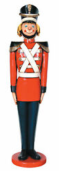 Christmas Statue - Tin Soldier - Life Size 5.5ft