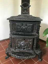 Cast Iron Forged Parlor Stove