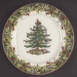 Spode Christmas Tree 2006 Annual 12 Round Buffet Plate 5770152