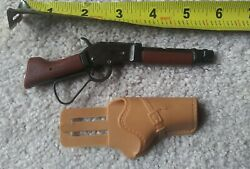 """1960's Miniature Toy Cap Gun """"mares Laig"""" Official Wanted Dead Or Alive"""