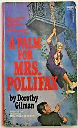 A Palm For Mrs Pollifax by Dorothy Gilman Paperback PB 1974