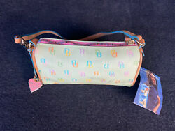 Dooney Bourke Green Mini Barrel Bag New With Some Flaws Shown In Photos $49.99
