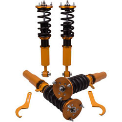 4x Suspension Spring Coilovers For Bmw 5 Series E60 Awd Xi 03-10 Shock Struts
