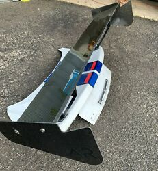 Used Apr Gt-200 71 Carbon Fiber Rear Wing Spoiler For 18-20 For Mustang