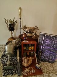 Witches Altar Kit, Pagan Altar Kit, Apothecary Kit, Wicca, Pagan