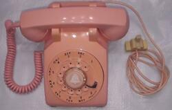 Near Mint Working 1962 Western Electric Pink 500 Telephone Fast Shipping
