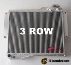 Radiator For Mg Mgb Gt Roadster 1.8l 1977 1978 1979 1980 3 Row Core Aluminum