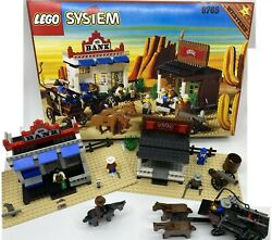 Vintage Lego Western Gold City Junction 6765 Complete W Box