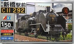 Micro Ace 1/50 Steam Locomotive In Front Of Shimbashi Station C11-292