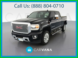 2017 Gmc Sierra 2500 Denali Pickup 4d 6 1/2 Ft Power Windows Stabilitrak Leather Heated And Cooled Seats Daytime Running Lights