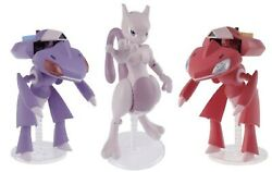 Bandai Pokemon Plamo Collection 31+32 Red Genesect And Genesect And Mewtwo Model Kit