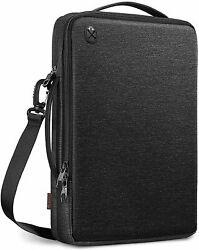 15.6 Inch Laptop Shoulder Bag Padded Computer Carrying Case for 15#x27;#x27; MacBook Pro $34.29