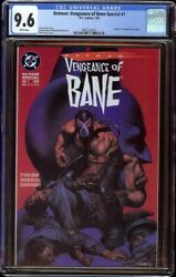 Vengeance Of Bane 1 Cgc 9.6 White Dc 1993 Origin And 1st Appearance Of Bane