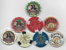 B. B. Cody Casino Deadwood Sd 25 5 And 1 Obsolete Chip Collection