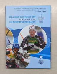 Slovakia Euro Kms Olympic Winter Olympics Vancouver 2010 Pf Only 5000 Piece