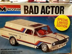 MONOGRAM 1960 CHEVY DELIVERY WAGON. SEALED. BAD ACTOR NEW SEALED SHIPS FREE $58.50