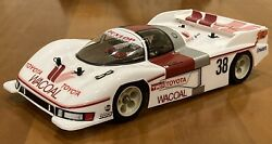 Tamiya Toyota Toms 84c 1/12 Scale On Road Racer Rc Car Shelf Queen