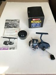 Vintage Garcia Mitchell Match 440a Spinning Reel Display Model Excellent Cond