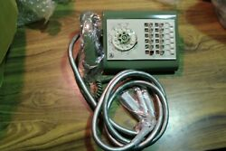 Nos No Box Northern Electric 1970s 80s Green Call Director 18 Button Telephone