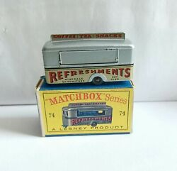 Matchbox 74 Mobile Canteen. And D Box