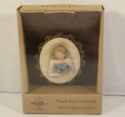 Willow Tree 2008 Thank You Ornament Susan Lordi Appreciating Your Kindness New